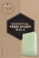 CSB Essential Teen Study Bible, Personal Size, Green Palms