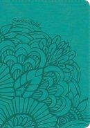 RVR 1960 Biblia Compacta Letra Grande Aqua, símil piel con í