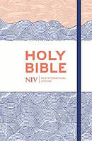 NIV Thinline Blue Waves Bible