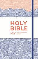 NIV Thinline Blue Waves Bible