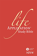 NIV Larger Print Life Application Study Bible (Anglicised)