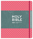 NIV Pink Polka Dot Journaling Bible