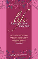 NIV Compact Life Application Study Bible (Anglicised) Soft tone