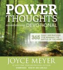 Audiobook-Audio CD-Power Thoughts Devotional (4 CD)