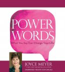 Audiobook-Audio CD-Power Words (Unabridged) (3 CD)