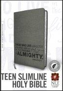 Teen Slimline Bible NLT: Psalm 91, Charcoal