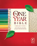 NLT: One Year Bible - Reflections