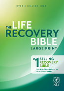 NLT Life Recovery Bible, Large Print