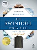 The NLT Swindoll Study Bible Black