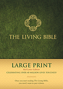 Living Bible Large Print Red Letter Edition, The
