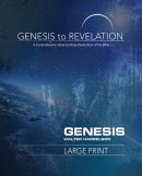 Genesis to Revelation: Genesis Participant Book [Large Print