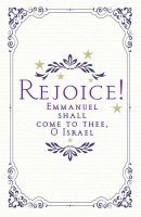 Rejoice! Advent Bulletin (Pkg of 50)