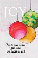 Joy Ornament Advent Bulletin (Pkg of 50)