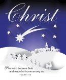 Christ Paper Art Advent Bulletin, Large (Pkg of 50)