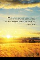 Wheat Field Scripture Series Bulletin (Pkg of 50)