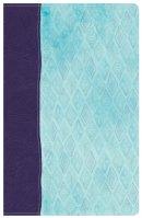 NKJV Daily Devotional Bible for Women, Purple/Blue LeatherTouch