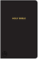 CSB Gift & Award Bible, Black