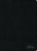 RVR 1960 Biblia de estudio Spurgeon, negro piel genuina