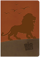NKJV Big Picture Interactive Bible, Lion LeatherTouch
