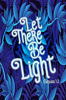 Let There Be Light: Bible Verse Quote Cover Composition Notebook Portable