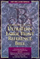 NKJV Ultra Thin Reference Bible: Burgundy, Bonded Leather, Large Print