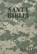 NVI Spanish Compact Bible Camouflage Paperback