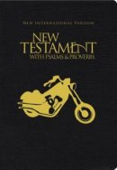 NIV, Motorcycle Edition New Testament with Psalms and   Proverbs, Pocket-Sized, Paperback, Black