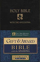 NRSV Bible with Apocrypha: Black, Imitation Leather