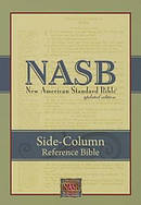 NASB Side-Column Reference Wide Margin Bible, Black