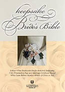 HCSB Keepsake Bride's Bible Bonded Leather White