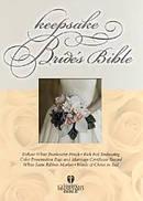 HCSB Keepsake Bride's Bible Bonded Leather White