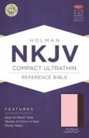 NKJV Compact UltraThin Reference Bible, Pink and Brown Imitation Leather