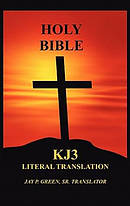 KJ3 Bible Literal Translation Paperback