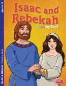 Isaac and Rebekah Colouring Activity Book