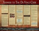 Answers To the Da Vinci Code (Laminated)  20x26