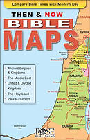 Then and Now Bible Maps 5pk