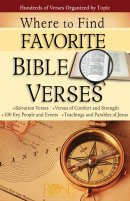 Where To Find Favorite Bible Verses Pamphlet