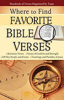 Where to Find Favorite Bible Verses 5pk