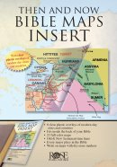 Then & Now Bible Maps Insert