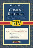 KJV Compact Bible: Burgundy