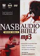 NASB: Audio Bible, Voice Only, MP3 CD plus DVD-Rom