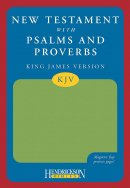KJV New Testament with Psalms and Proverbs: Green Flexisoft with magnetic flap