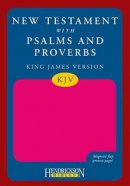 KJV New Testament with Psalms and Proverbs:  Pink with Magnetic Flap