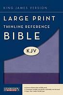 Kjv L P Thinline Ref Violet Lilac Lth