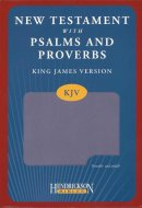 KJV New Testament with Psalms and Proverbs: Lilac, Imitation Leather