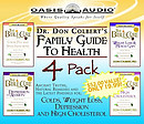 Dr. Colbert's Family Guide to Health 4-Pack, #1 [With 1 CDROM with Guidebook Material]