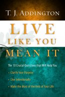 Live Like You Mean It Hb
