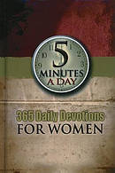5 Minutes A Day 365 Daily Devos For Women