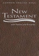 CEB Pocket New Testament With Psalms And Proverbs: Brown, Imitation Leather