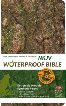 NKJV Waterproof Bible: Camouflage, New Testament and Psalms
